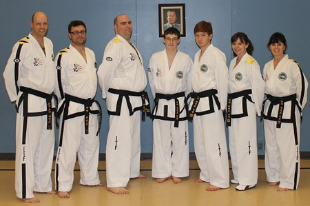 2014-03-23 - Umpire Course at Cabot TKD