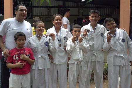 2014-08-03 - ITF-TAO Nicaragua Hosts Tournament