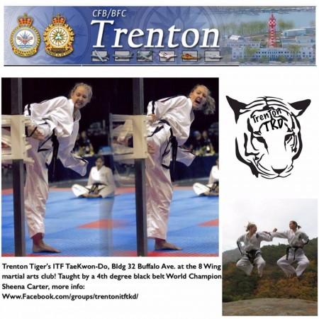 Trenton Tigers Taekwon-Do at Canadian Forces Base Trenton, Ontario