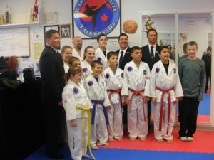 2014-12-14 - ITF-TAO Black Belt Grading Bartlett's TKD