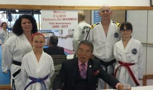 2015-04-20 - FGMR visits Taekwon-Do Maximus